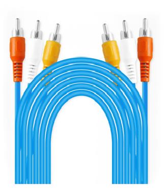 3RCA AV 1.5M Composite Cable