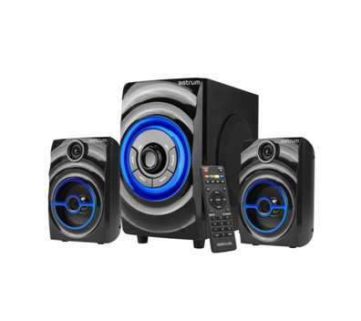 Astrum 2.1CH 12W Multimedia Speaker USB + SD + FM Radio